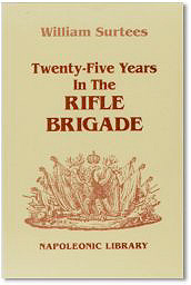 25 Years in the Rifle Brigade cover