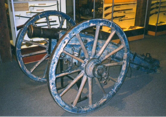 Captured Swedish Cannon
