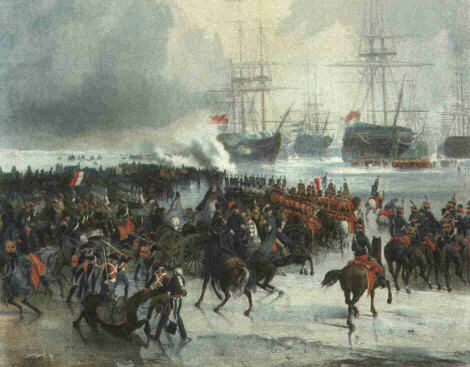 Capture of the Dutch Fleet