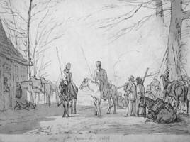 Cossacks in Holland: 1813