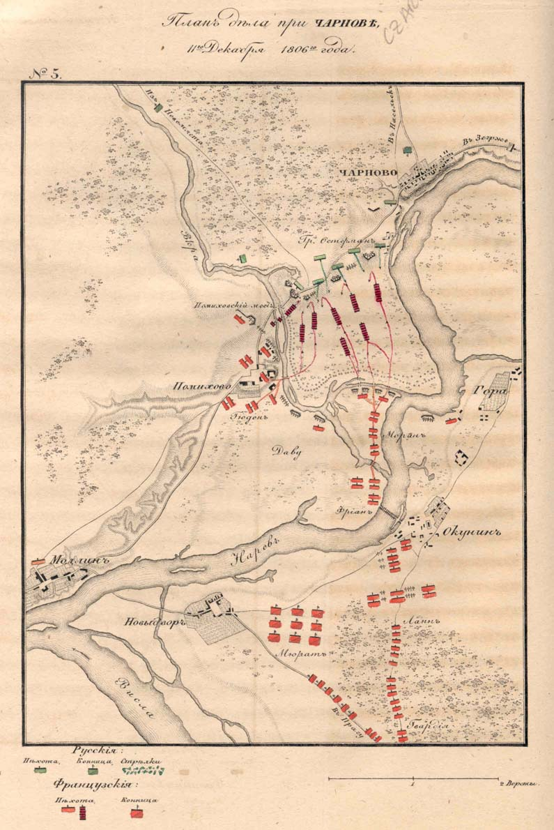 Czarnowo: 24 December 1806 night Charnov