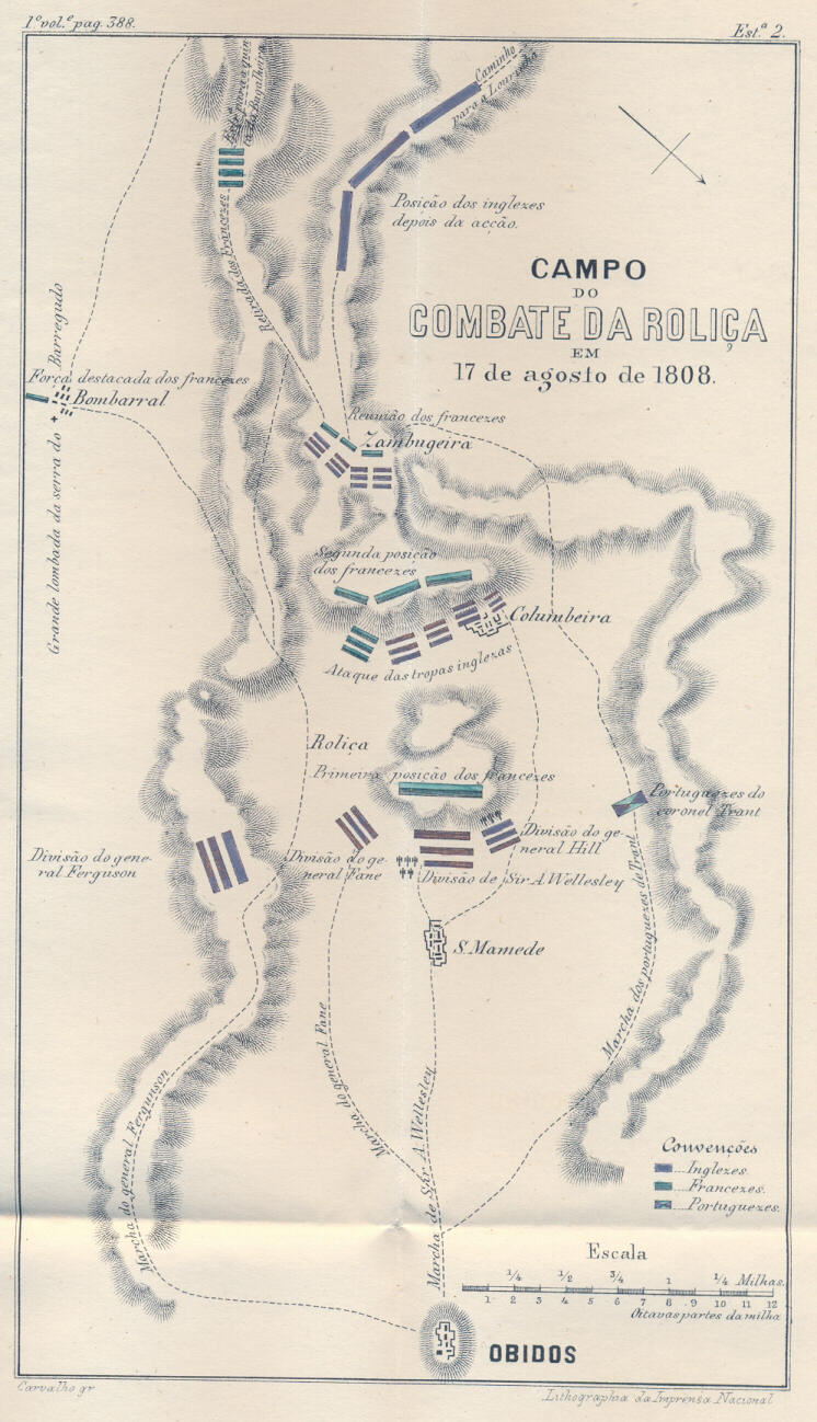 1808 août 17 - Roliça Rolica1