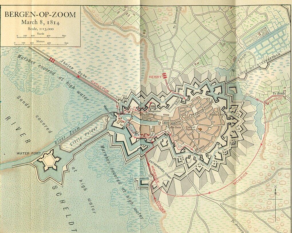 Map B.o.Z. - 1814