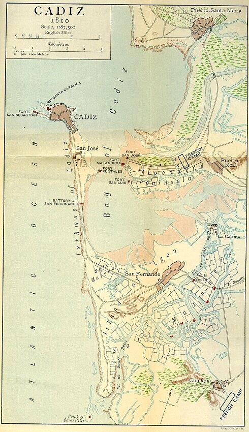 Cádiz um 1810