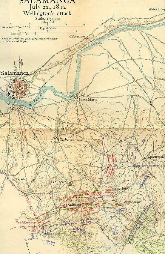 The Peninsular War The Battle of Salamanca 22nd July 1812