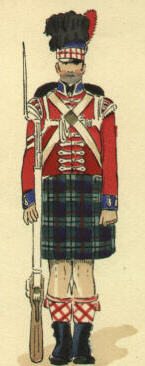 Corporal, 42nd Highlanders