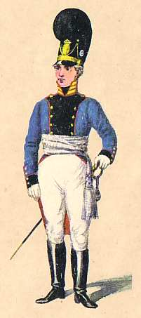 Bavaria: Captain 13th Infantry Regiment: 1811