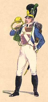 Bavaria: Hornist 6th Infantry Regiment Herzog Wilhelm: 1811