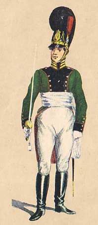 Bavaria: Captain 1st Light Infantry Battalion Gedoni: 1811