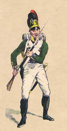 Bavaria:  Private 5th Light Infantry Battalion Butler: 1811