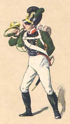 Bavaria: Hornist 4th Light Infantry Battalion Theobald: 1811