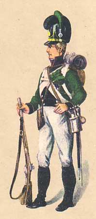 Bavaria: Rifleman 3rd Light Infantry Battalion Bernklau: 1811