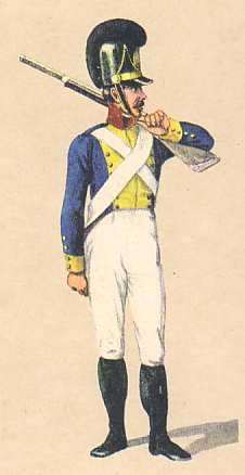 Bavaria: Private 9th Infantry Regiment Ysenburg: 1811