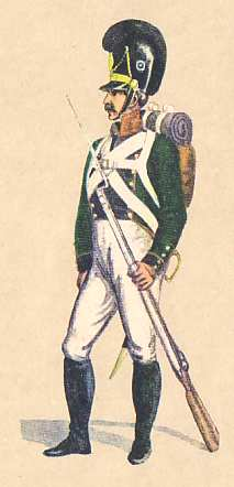 Bavaria: Private 2nd Light Infantry Battalion Wreden: 1811