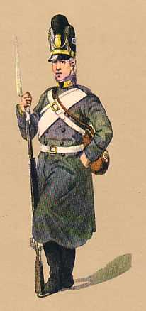 Bavaria: Private Infantry Regiment (Vacant Weichs): 1802