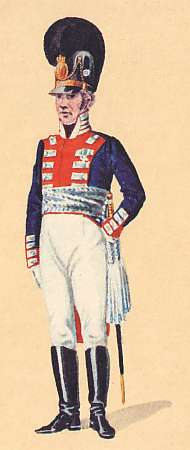 Bavaria:  Colonel 1st Leib Regiment: 1806