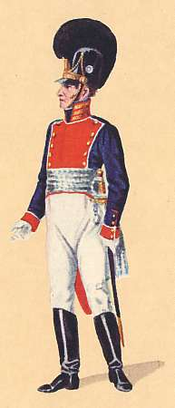 Bavaria: Captain 3rd Infantry Regiment Prinz Karl: 1806
