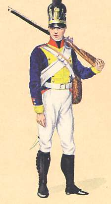 Bavaria: Private 9th Infantry Regiment Ysenburg: 1806