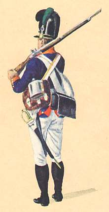Bavaria: Schütze 11th Infantry Regiment Kinkel: 1806