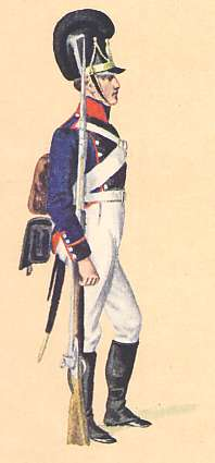 Bavaria: Private 13th Infantry Regiment: 1806
