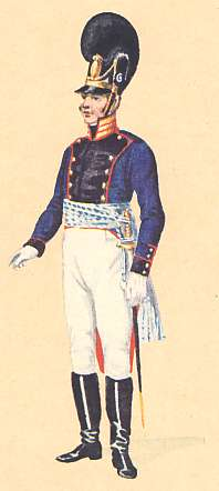 Bavaria: Captain 14th Infantry Regiment: 1806