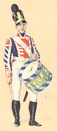 Bavaria: Drummer Infantry Regiment: 1806
