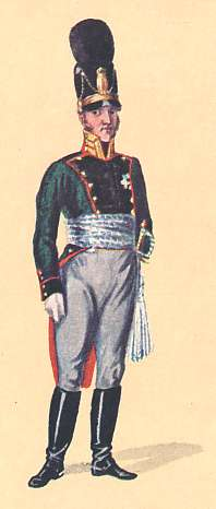 Bavaria: 1st Lieutenant 1st Light Infantry