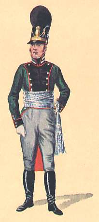 Bavaria: 1st Lieutenant 3rd Light Infantry