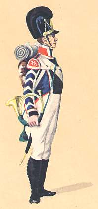 Bavaria: Hornist 13th Infantry Regiment: 1811