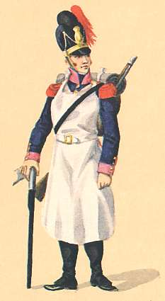 Bavaria: Pioneer 7th Infantry Regiment: 1811