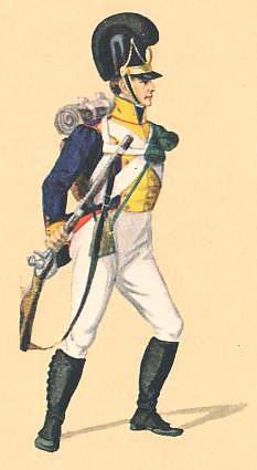Bavaria: Schütze 8th Infantry Regiment: 1811