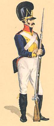 Bavaria: Private 9th Infantry Regiment: 1811