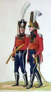 The Danish Army in Hamburg (1812 - 1814): the Uniform Plates of the Suhr Brothers