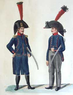 The Dutch Army in Hamburg (1807 - 1808): the Uniform Plates of the Suhr Brothers