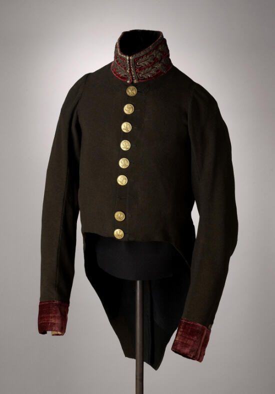 Dutch Medical Officer's Coat: 1812