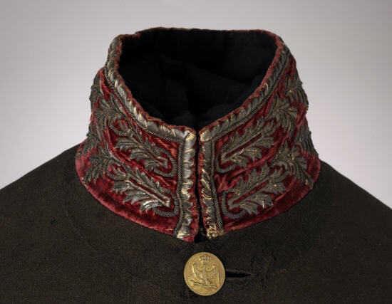 Detail of the Collar of a Dutch medical Officer's Coat