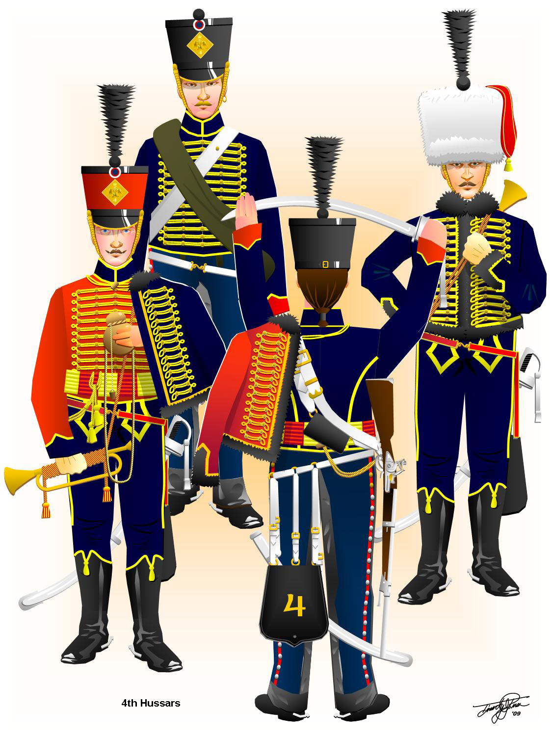 Napoleonic French Hussars On Pinterest French