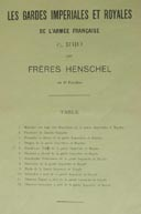 Henschel Brothers: French Army in Berlin 1809