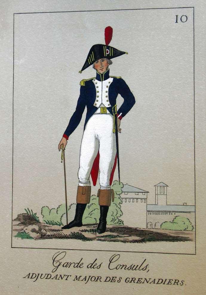 POTRELLE : LA GARDE DES CONSULS – 1801 Potrelle10b