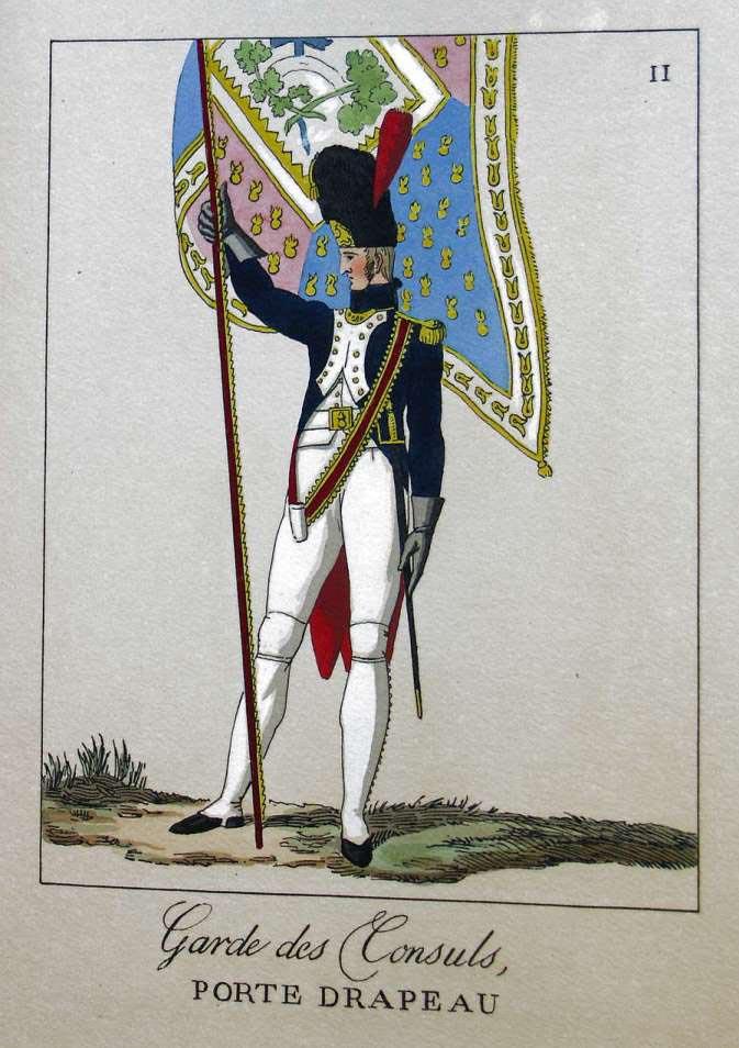 POTRELLE : LA GARDE DES CONSULS – 1801 Potrelle11b