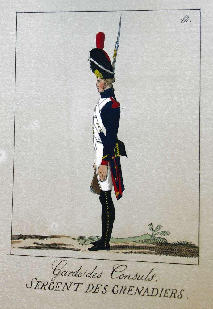 POTRELLE : LA GARDE DES CONSULS – 1801 Potrelle12b