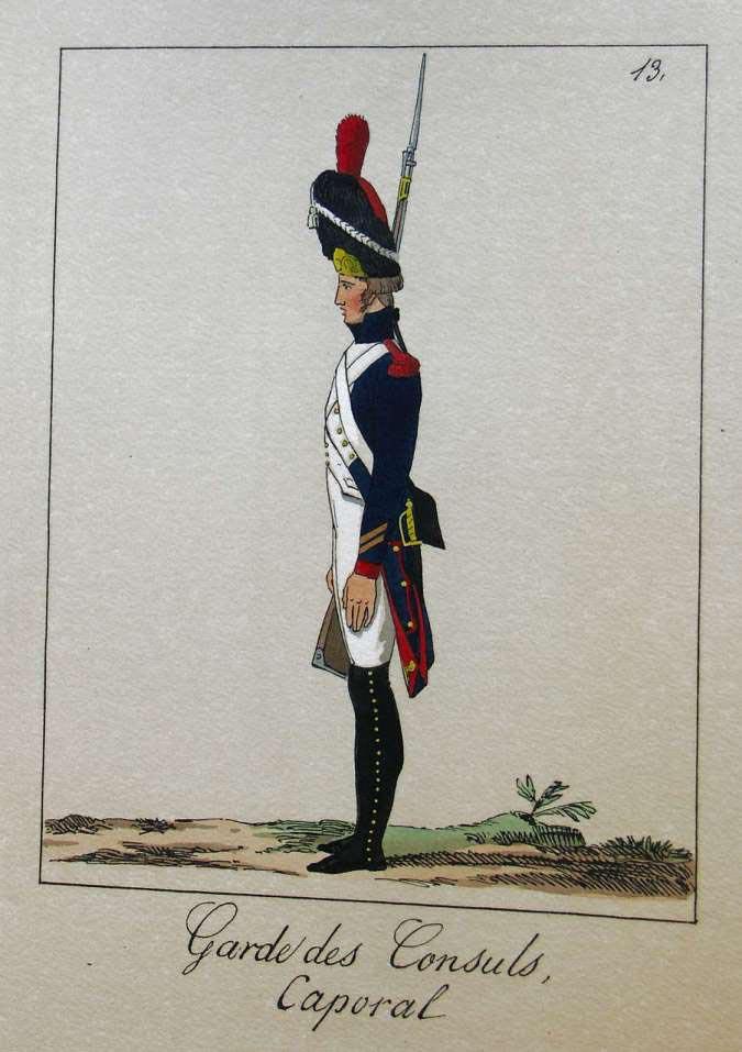 POTRELLE : LA GARDE DES CONSULS – 1801 Potrelle13b