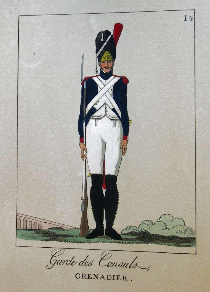 POTRELLE : LA GARDE DES CONSULS – 1801 Potrelle14b