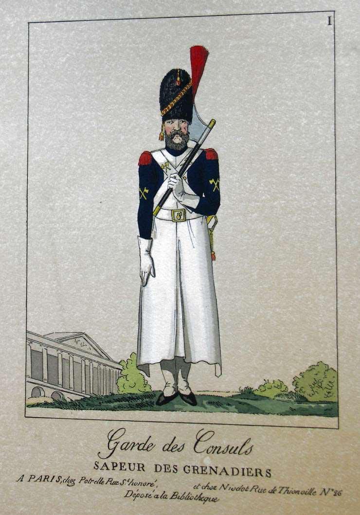 POTRELLE : LA GARDE DES CONSULS – 1801 Potrelle1b