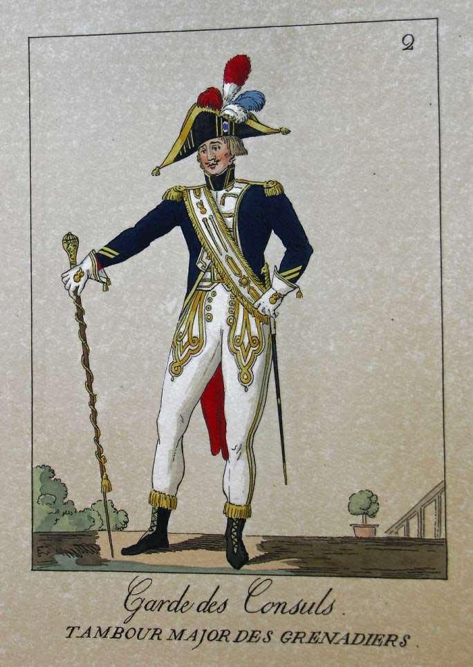 POTRELLE : LA GARDE DES CONSULS – 1801 Potrelle2b