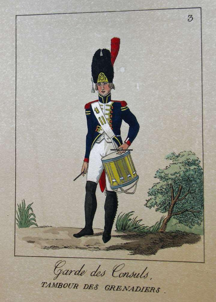 POTRELLE : LA GARDE DES CONSULS – 1801 Potrelle3b