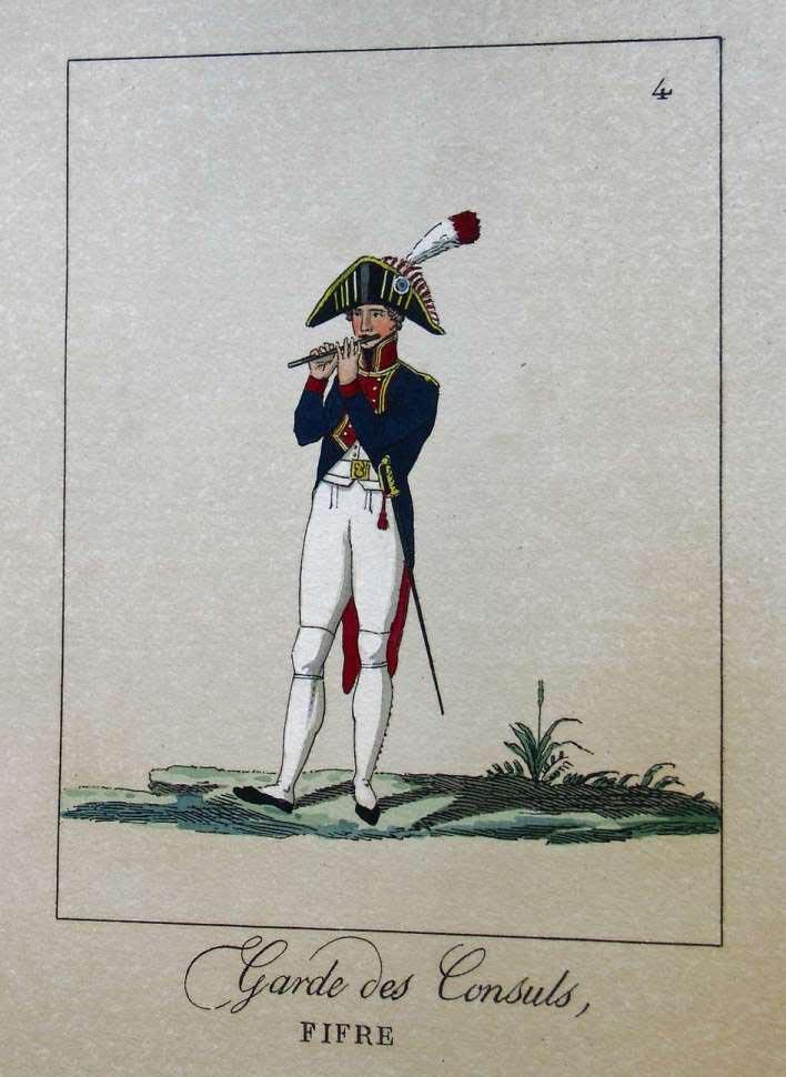 POTRELLE : LA GARDE DES CONSULS – 1801 Potrelle4b