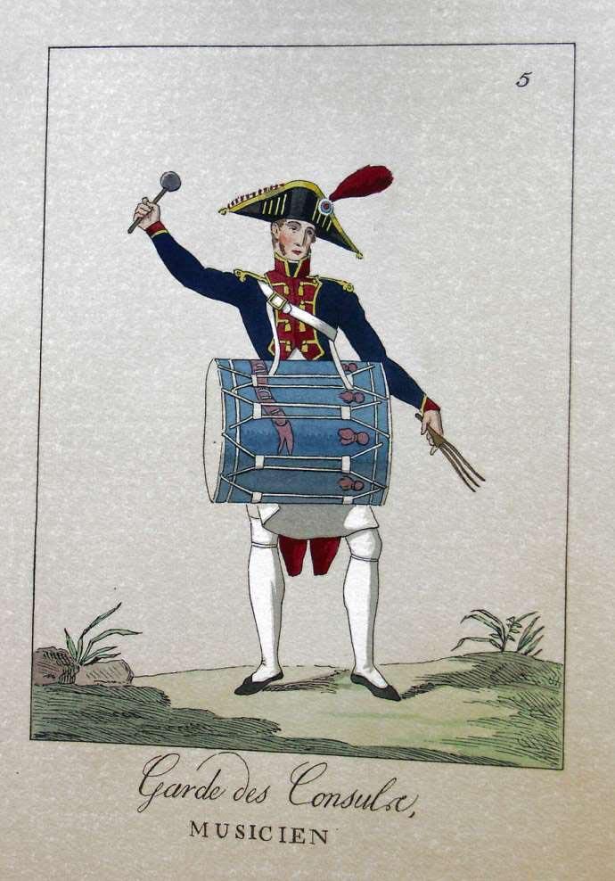 POTRELLE : LA GARDE DES CONSULS – 1801 Potrelle5b
