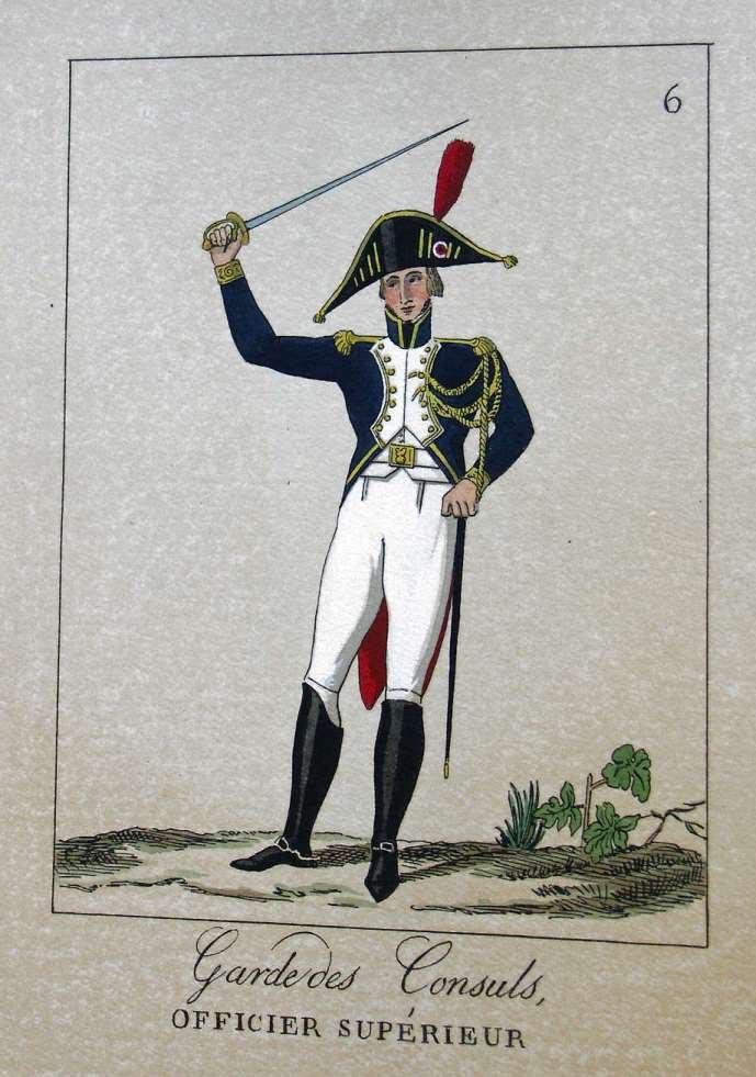 POTRELLE : LA GARDE DES CONSULS – 1801 Potrelle6b