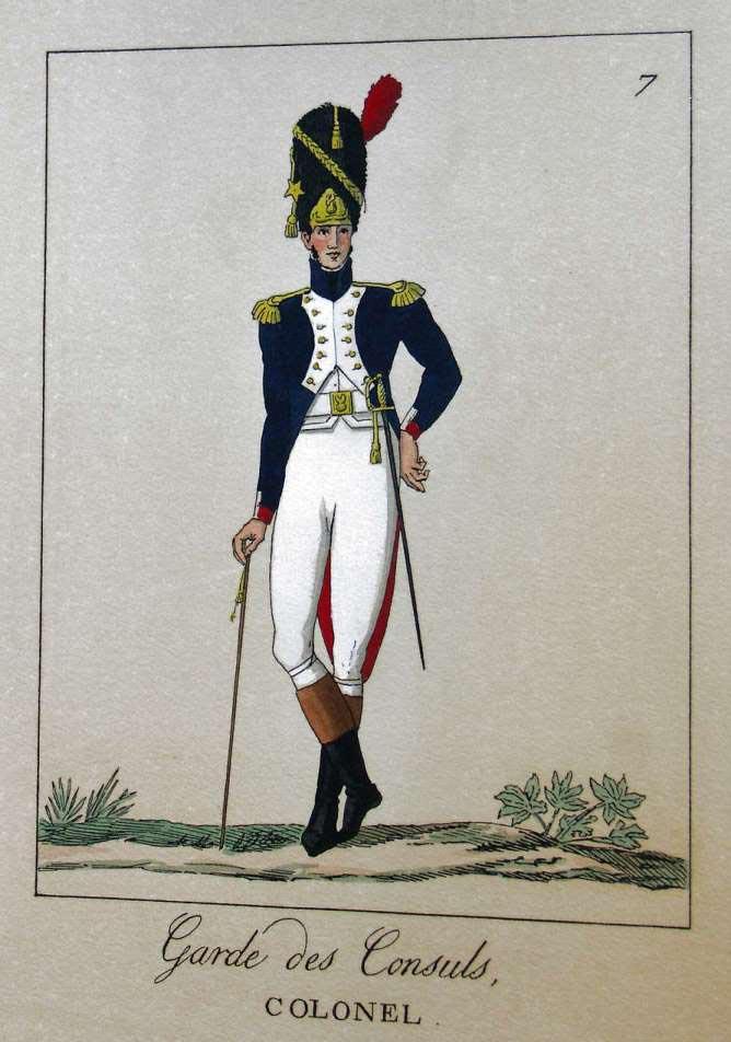 POTRELLE : LA GARDE DES CONSULS – 1801 Potrelle7b